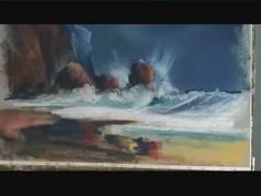 Improve Your Pastel Painting: Waterfalls & Rough Seas with Arnold Lowrey