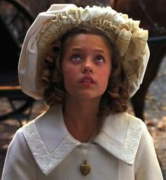 Liesel Matthews as Sara Crewe in A Little Princess (1995).