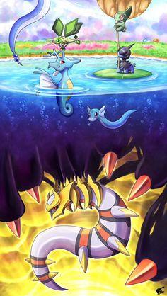 Dragon pokemon image bottom
