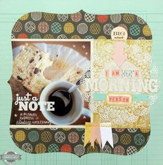 I am not a morning person by celine navarro at Studio Calico. Love the title and design.