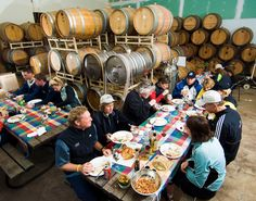 Dine among the wine on our California Wine Luxury bike tour!