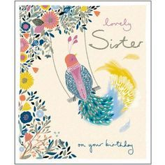 Sister Birthday Card 377211