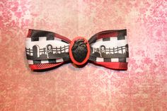 Death Heart  Red by RiotGearHairBows on Etsy, $8.00