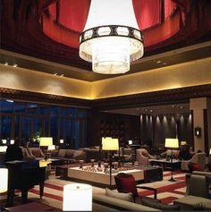 A Tibetan style lobby, Lodgers Lounge at Shangri-La Hotel, #Lhasa.