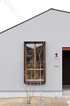 造作家具にこだわったお店のような平屋のお家 I様邸 | 【公式】チェックハウス Exterior Design, Interior And Exterior, Japanese House, Facade House, Scandinavian Home, Architecture, My House, Building A House, House Plans