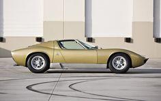 1970 Lamborghini Miura. The car that changed Lamborghini from a tractor company to a supercar company.