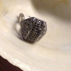 8359df2b40b9 Ring Marquesinas 21k White Gold Plated High quality 21k White Gold Plated  Jewelry Rings