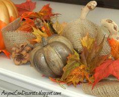 Fall Mantle Decorations :: Hometalk