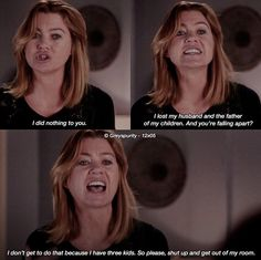 That broke my heart😭😭 Meredith Grey Quotes, Meredith And Derek, Greys Anatomy Facts, Grey Anatomy Quotes, Kodak Black Quotes, Wreck It Ralph Quotes, Simpson Tv, Simpsons Quotes, Cristina Yang