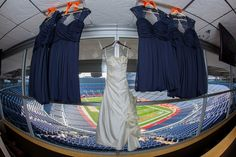 Denver Broncos Themed Wedding  #footballwedding