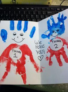 16 Trendy birthday presents for dad from kids crafts valentines day Daddy Birthday Card, Kids Birthday Cards, Dad Birthday Crafts, Husband Birthday, Diy Birthday Cards For Dad, Father Birthday, Happy Birthday, Girlfriend Birthday, Birthday Quotes