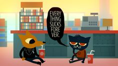 Hilarious but from the computer game night in the woods. 2d adventure and exploration game. Yay! $15 for digital copy. Come to mama.