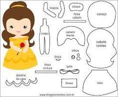 10 Felt Crafts to Make - Felt Patterns Free, Felt Doll Patterns, Craft Patterns, Stuffed Toys Patterns, Free Pattern, Felt Dolls, Paper Dolls, Felt Crafts, Crafts To Make
