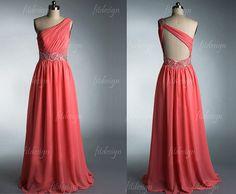 El vestido coral