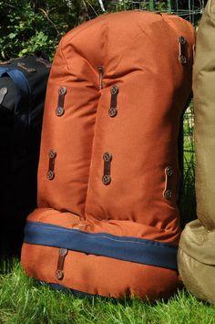 The Jensen Pack, Rivendell's signature Heritage Backpack Camping Shop, Vintage Backpacks, Heritage Backpack, Designer Backpacks, Leather Projects, Day Bag, Bradley Mountain, Trekking, Packing