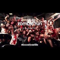 «Zombie Run de la Boostbastille Octobre 2014, voir vidéo http://youtu.be/JI-2MrrduTE #boostbastille #zombierun #running #halloween repost @niouinina»