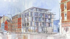 Richard Pedlar Architects Bristol, Architects, Multi Story Building, Building Homes, Architecture