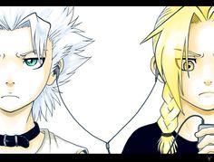Hitsugaya Toshiro and Edward Elric