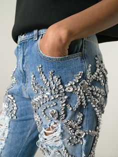 Shop Marco Bologna crystal embellished distressed jeans in Elite from the world's best independent boutiques at farfetch.com. Over 1000 designers from 300 boutiques in one website.