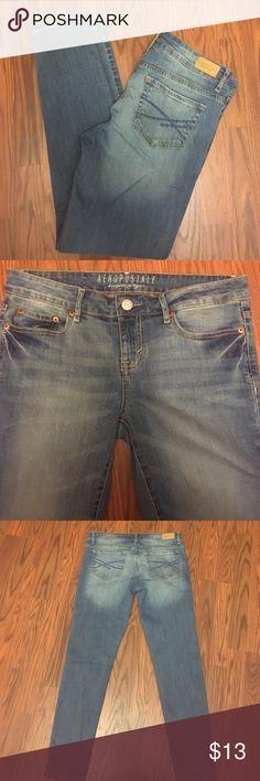 Aeropostale Jeggings Jeggings, size 8/Short, 98% cotton, 2% spandex Aeropostale Jeans