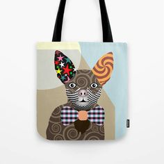 Chihuahua Bag, Chihuahua Gifts, Chihuahua Art Print, Dog Tote Bag, Dog Lover's Gift, Animal Lover Gift, Pet Tote Bag