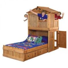 Coolest kid bed ever