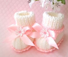 by FirstStepBabyBooties on Etsy