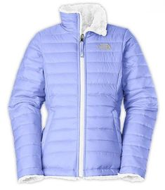 ec630f73325f The North Face Girls Reversible Mossbud Swirl Jacket Toddler Girl Style
