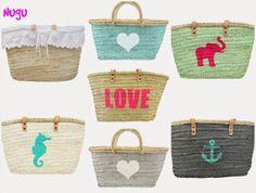 Selección de cestas y capazos para el verano
