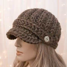 crochet hat @Jess Pearl Liu Schmautz (Sew Crafty Baby)  this is what I want to learn to make :)