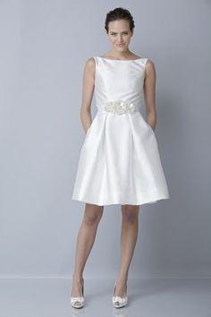 Dress By Theia At Saratoga Trunk Weddings Wedding Styles Chic Elegant