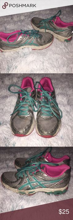✨COTTON CANDY GEL EXALT ASICS✨ ✨Asics Gel Exalt shoes are a necessity for your workout! Heel clutching system holds foot securely in place. The most comfortable workout shoes I've ever owned!! Size 8. Worn multiple times, but still in great condition! Smoke free home. No trades. Price negotiable!✨ Asics Shoes Athletic Shoes