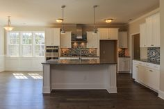 Kitchen and breakfast nook in the Brooks Traditional
