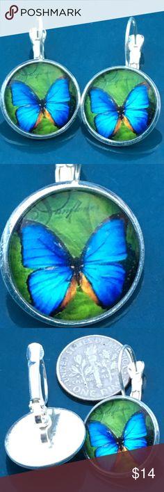 Beautiful butterfly 🦋 earrings Beautiful butterflies 🦋 Silver alloy Jewelry Earrings