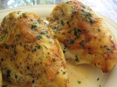Roast Chicken Breasts With Parsley Pan Gravy: Simple way to prepare juicy breasts + tweak the gravy however you like it.