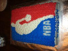 NBA birthday cake