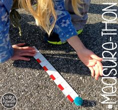 Your students will love this second grade math simulation! Measure-Thon.