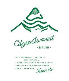 city to summit Logo