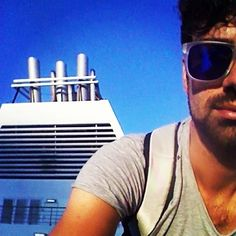 @Federico_elle_erre onboard the ship #Fantastic for his trip with #gnv: fron #Genova to #Palermo. And you?Follow the tag #grandinaviveloci on #instagram & be part of our world by tagging your own pictures too! www.gnv.it/en/