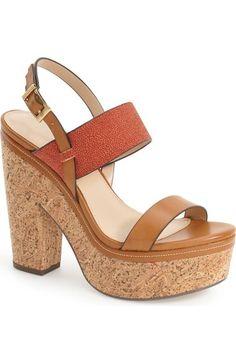 Charles by Charles David 'Jangle' Platform Sandal (Women) available at #Nordstrom