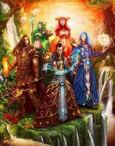 The First Aspects of Azeroth by k-e-i-s-i-n-g-e-r