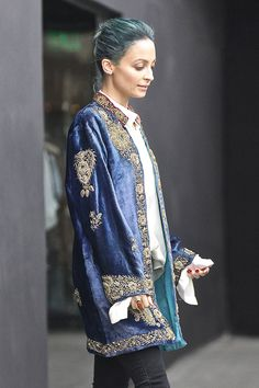 Nicole Richie Wears an Amazing Vintage Jacket. And Now WE Want It. :: Company.co.uk
