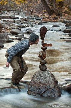 Ballancing stones