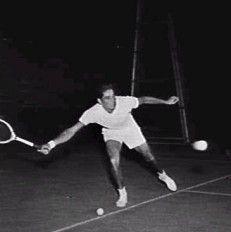 Pancho Gonzales 1928 - 1995 American tennis player