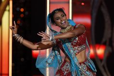 Miss America performs Bollywood fusion Dance at the contest {the first Indian- American to win Miss America Contest}