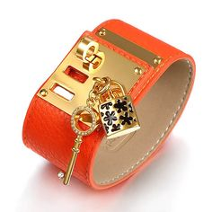 Find More Wrap Bracelets Information about Multi Colour Genuine Leather Wrap Bracelet 18k Gold Plated Lock And Key Charm Bangles For Women Christmas Gift New Brand,High Quality bracelet roll,China bracelet foot Suppliers, Cheap bangles and bracelets from IFEEL Jewelry on Aliexpress.com