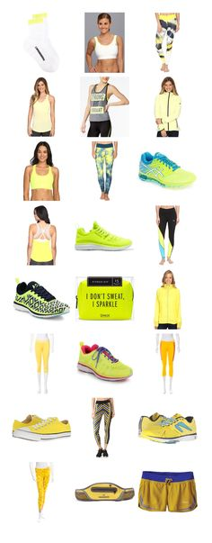 All the Yellow! Today for Fitness Fashion Friday I'm sharing my recent yellow obsession. Give me all the yellow workout gear! Workout Tips, Workout Wear, Fun Workouts, At Home Workouts, Fitness Nutrition, Fitness Tips, Fitness Motivation, Health And Fitness Magazine, Running Accessories