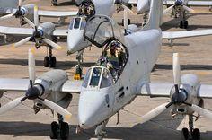 Argentine Air Force FMA IA-58A Pucarás