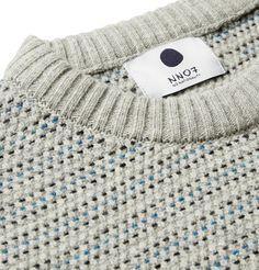 NN.07Frankie Striped Wool-Blend Sweater