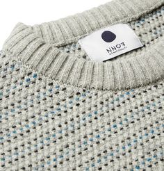 NN.07 Frankie Striped Wool-Blend Sweater